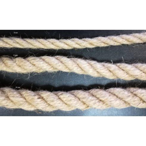 Sodrott juta kötél 16 mm ( 5 méteres)