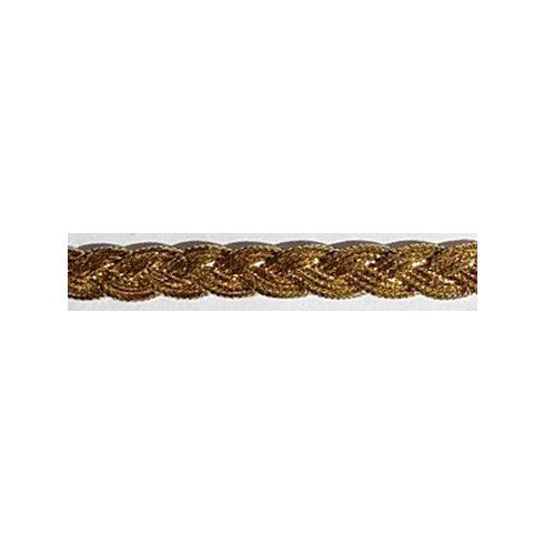 Arany színű díszítő szalag 7 mm 190 Ft/m (20m)